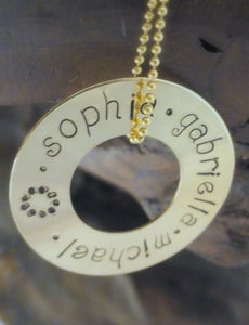 Image of Family Circle Necklace