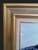 Mid-century Modern Swedish Artist 'The Old Jetty'