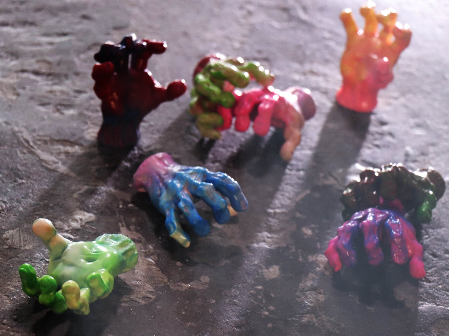Image of THE EVIL HAND (NEW COLOURS)