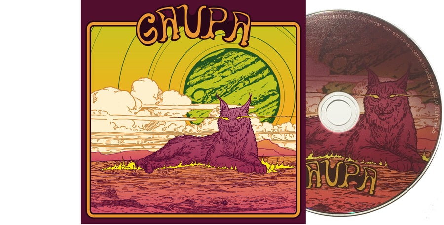 Image of SIGNED CD:s, GAUPA EP - Limited edition