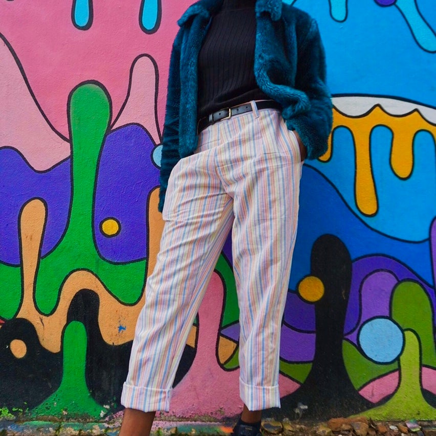 Image of Candy Stripe Trousers