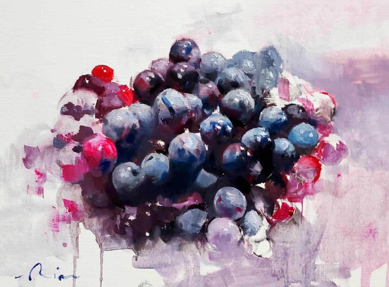 Image of Coronation Grapes print