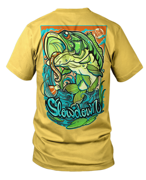 Image of 2020 Bass Fishing Shirt on Ginger