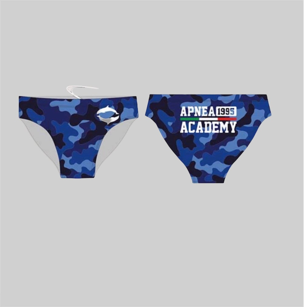 CAMOUFLAGE SWIM BRIEF MAN
