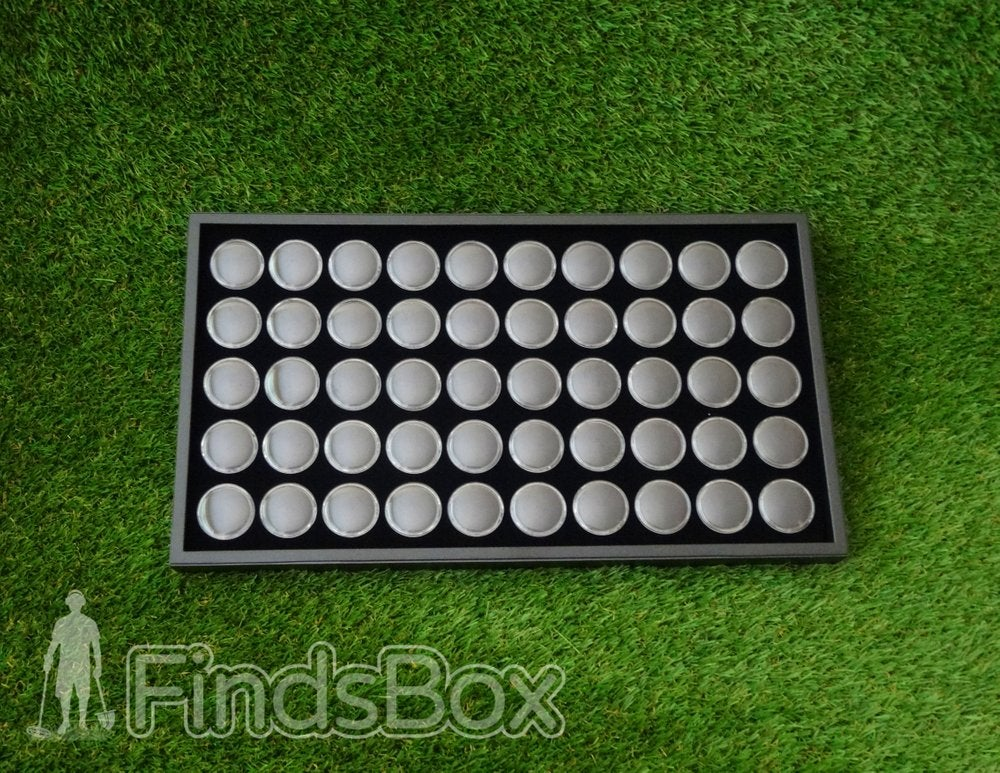 Image of Metal Detecting Finds Box Capsule Display Tray