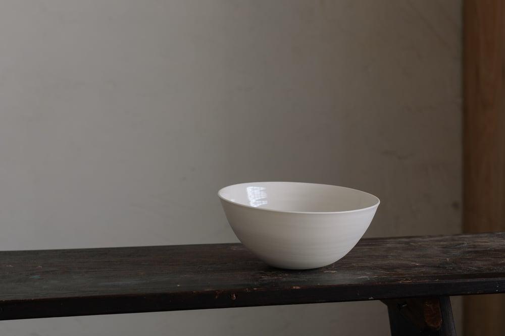 Cream Porcelain Bowl