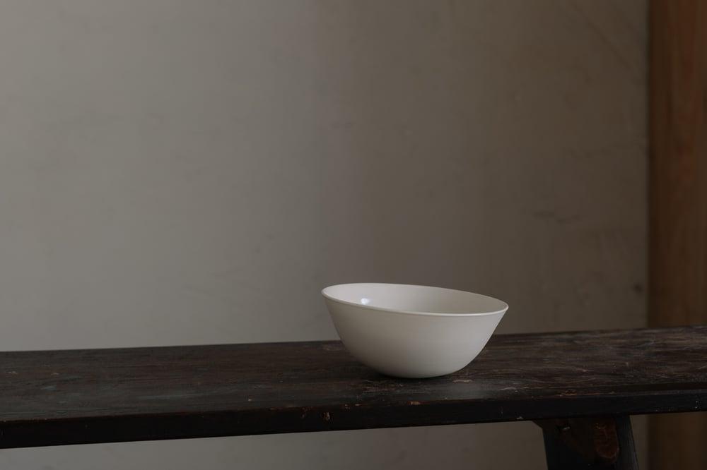 Cream Porcelain Small Bowl