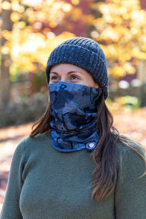 Image of Neck Gaiter- Black Camo