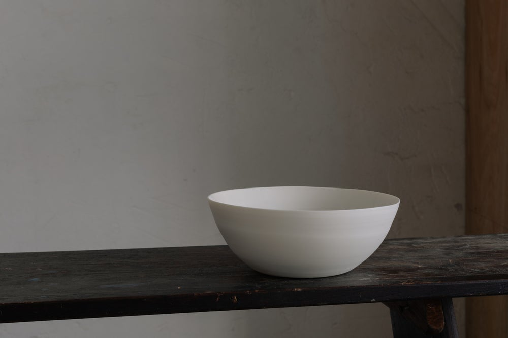 Cream Porcelain Small Serving Bowl
