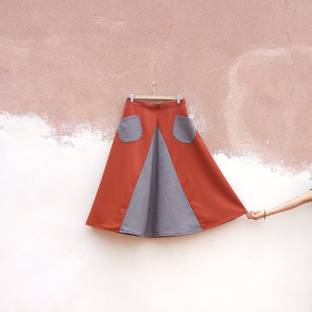 Image of ORANGE SKIRT