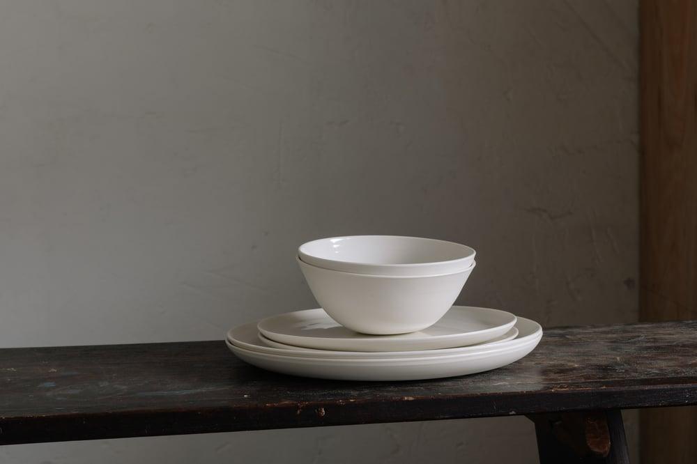Cream Porcelain Tableware Set