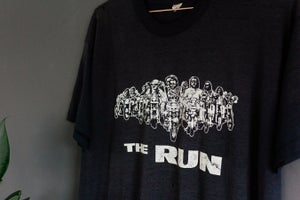 Image of Early 80s 'The Run' motorcycle Tee