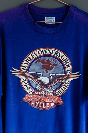 "Image of 90s Harley Davidson ""HOG"" Reno, Nevada"