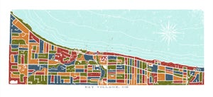 Image of Bay Village, OH map