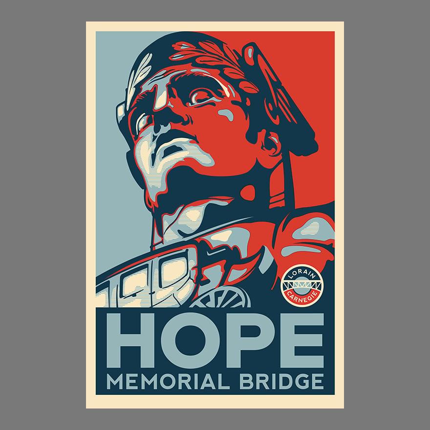 Image of HOPE Memorial Bridge