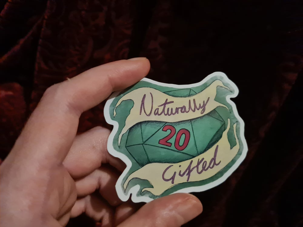 Image of Naturally Gifted - Sticker