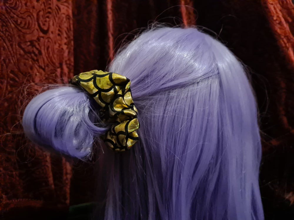Image of Golden Dragon - Scrunchie