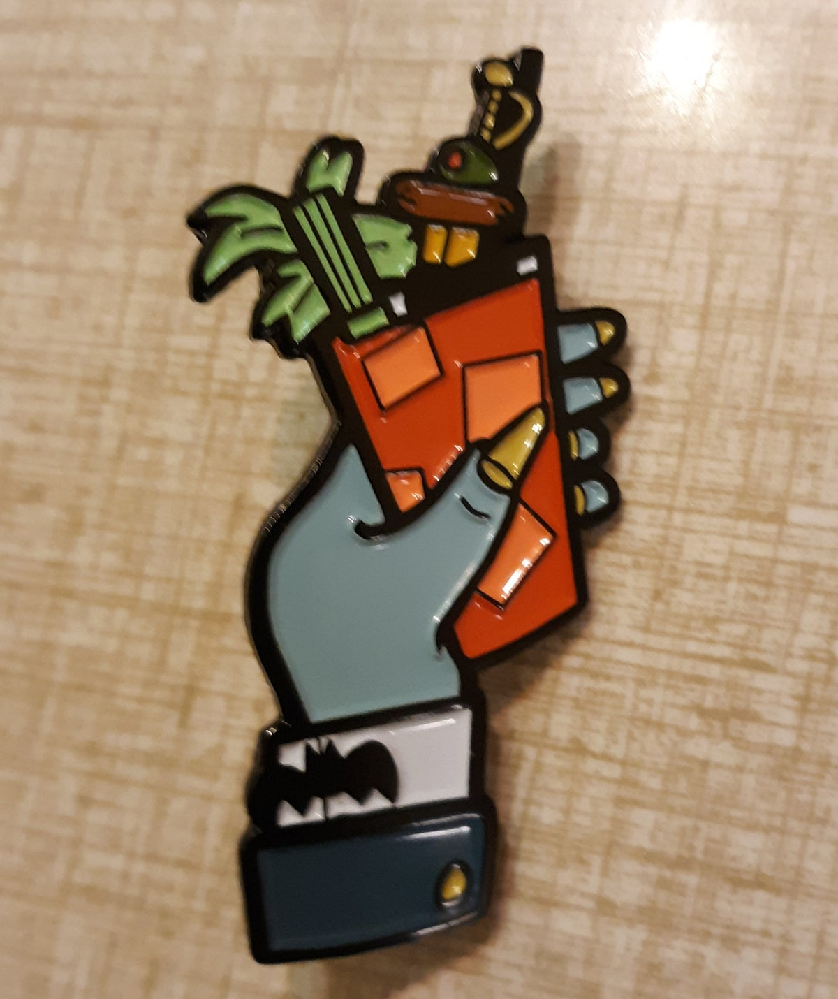 "DRAC'S BLOODY MARY Limited Edition 2"" Soft Enamel Pin"