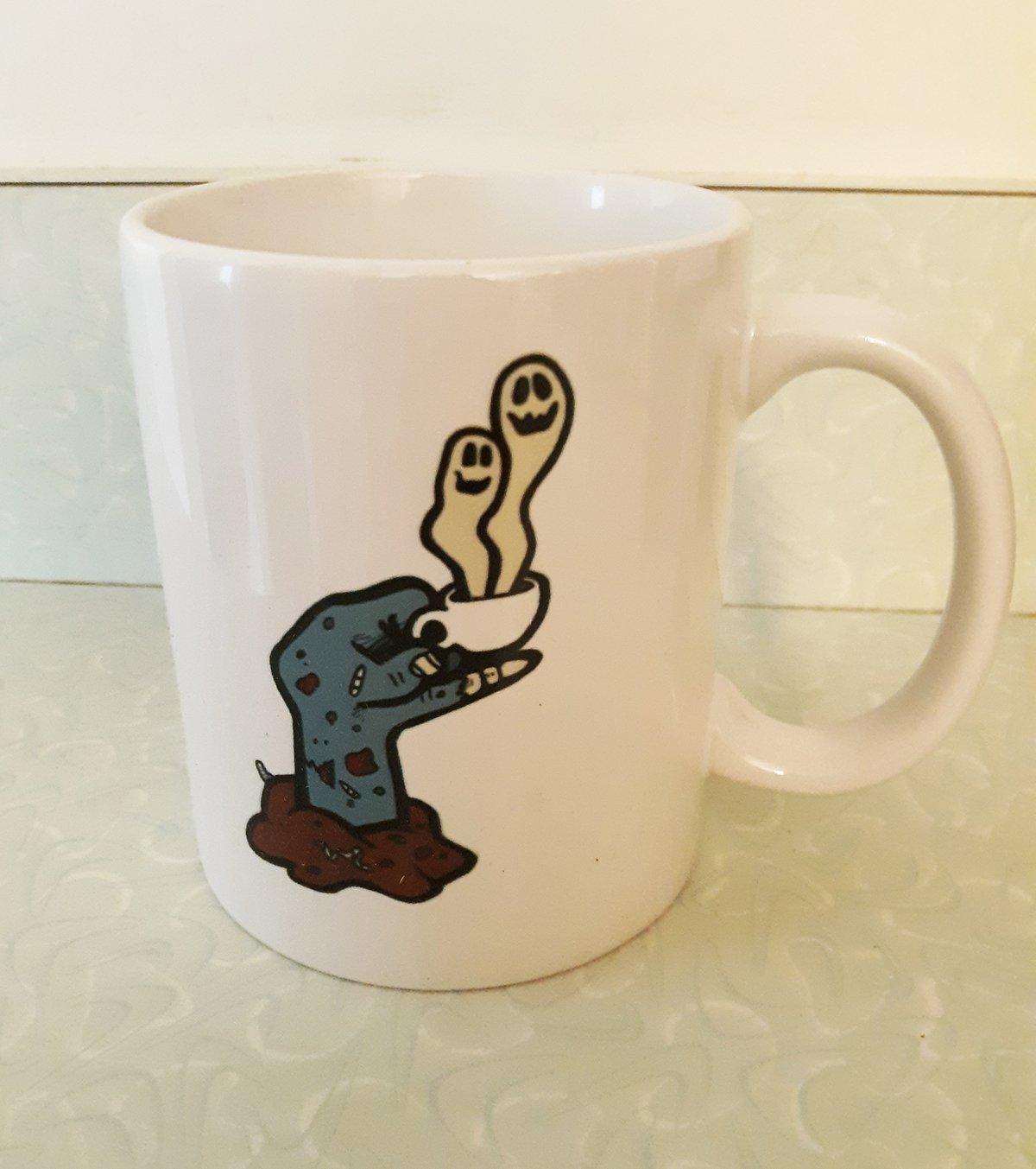 Glassworks Coffee ROAST IN PEACE Zombie Coffee Mug