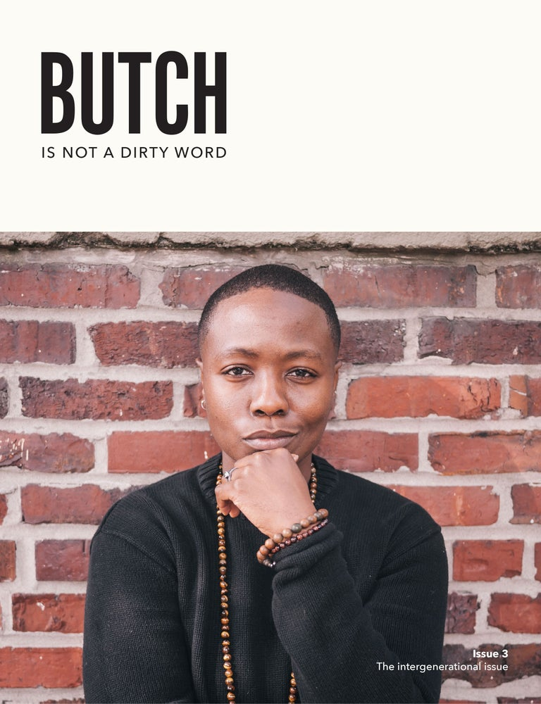 Image of ISSUE #3 - INTERGENERATIONAL - butch lesbian, butch dyke