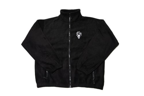 Image of Seshskull Embroidered Fleece Jacket
