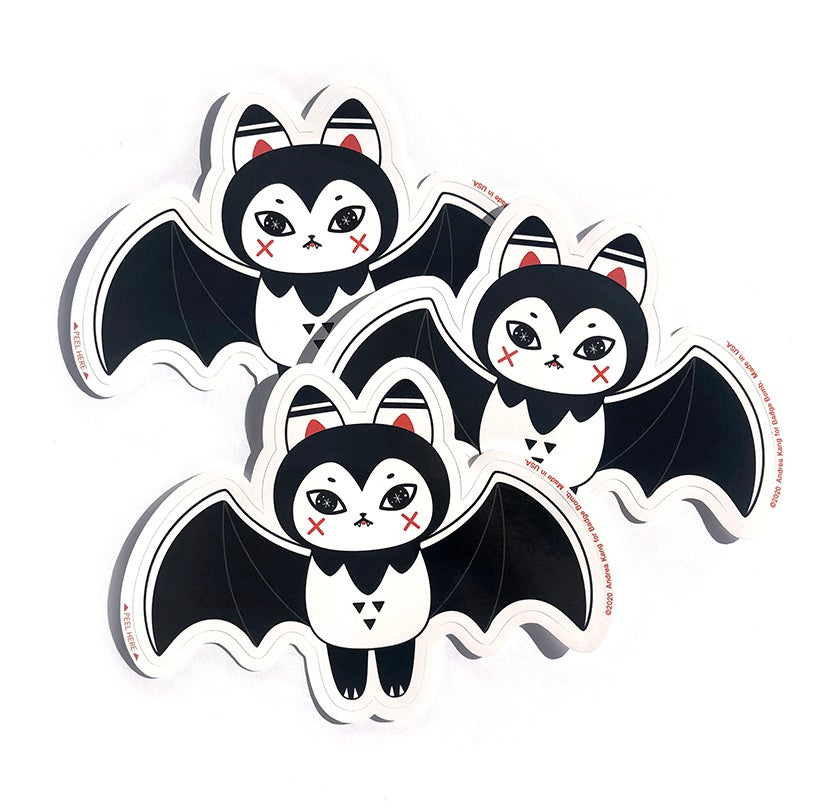 Image of Bat Bat Sticker