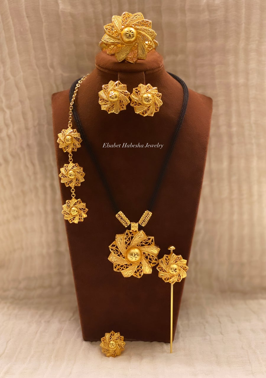 Image of CUSTOM KOKOB set - gold & silver