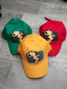 Image of Africa Denim Patch Cap