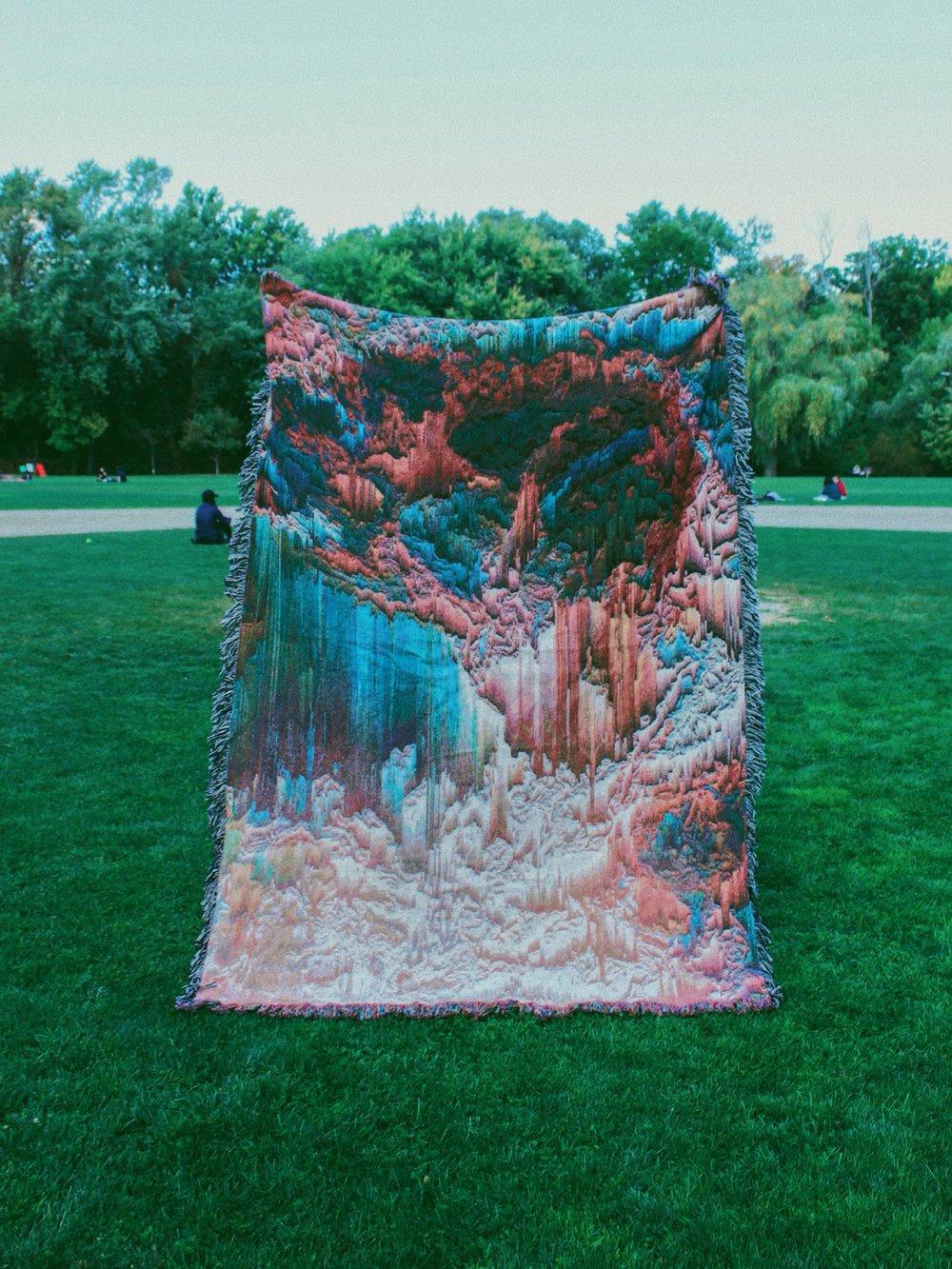 XL Woven Blanket #1