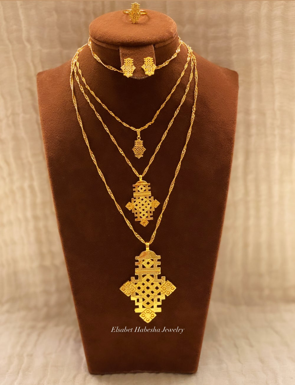 Image of AXUM  ~  LAYERS -Gold & Silver
