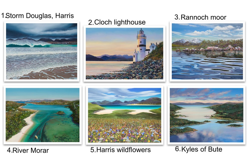 Image of Greetings cards 1-6