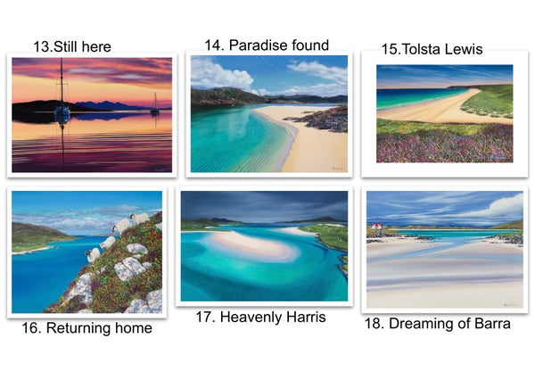 Image of Greetings cards 13-18