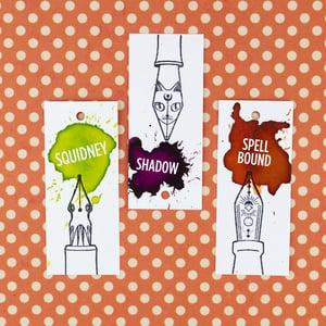 A Compendium of Unfamiliars: Fantasy Nib Rubber Stamps