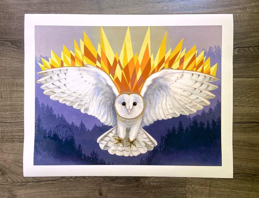 """Image of """"Tyto Alba""""  Giclee Print"""