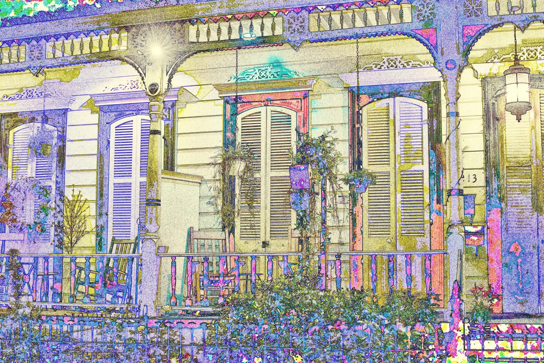 Image of nola porch