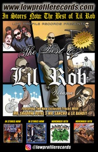 Image of The Best Of Lil Rob Poster