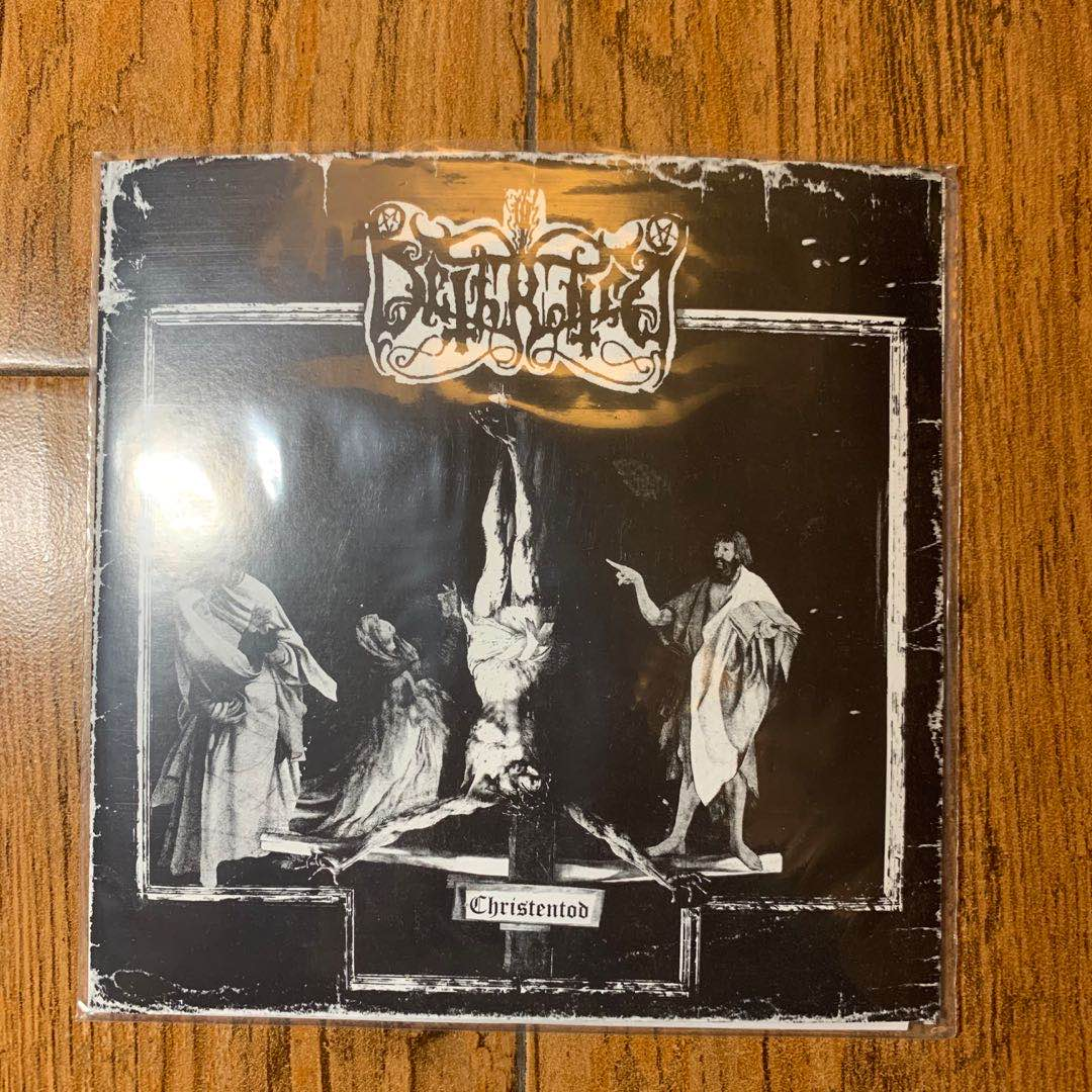Dethroned (USA) - Christentod - 7""
