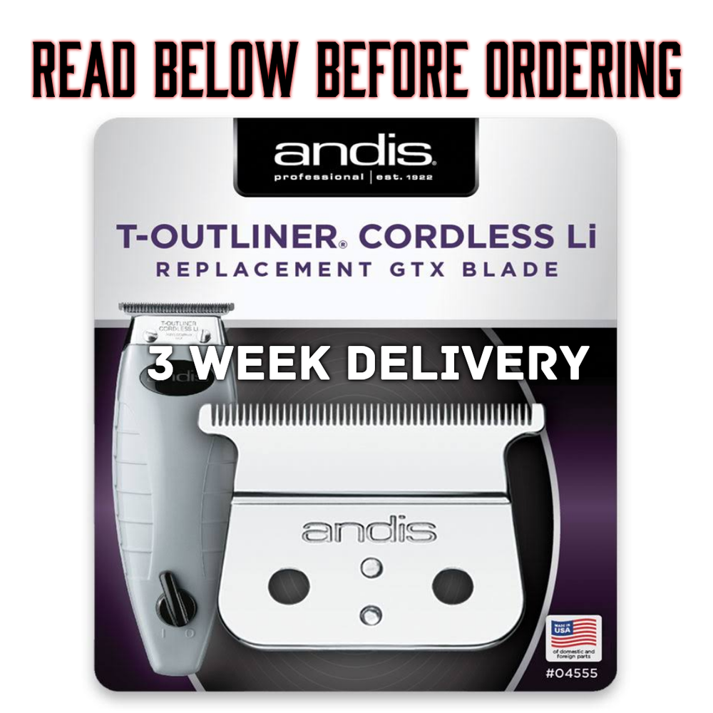 "Image of (3 Week Delivery) ""Modified"" Cordless Andis GTX Trimmer Blade"