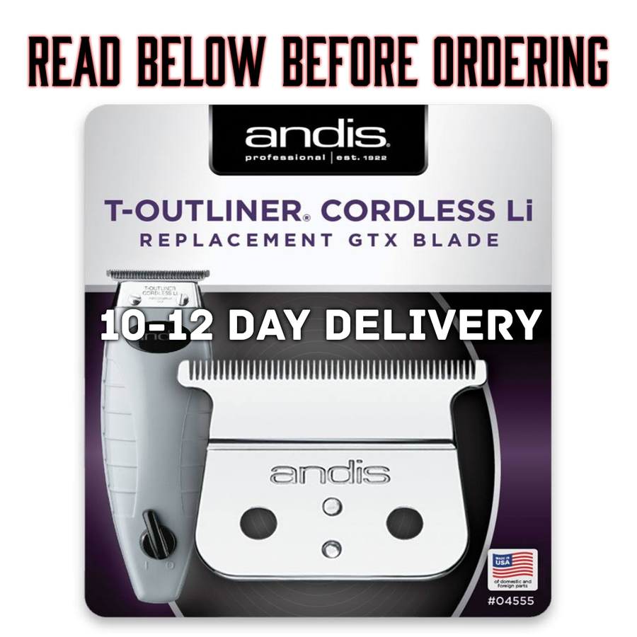 "Image of (10-12 Day Delivery/Expedited Delivery) ""Modified"" Cordless Andis GTX Trimmer Blade"