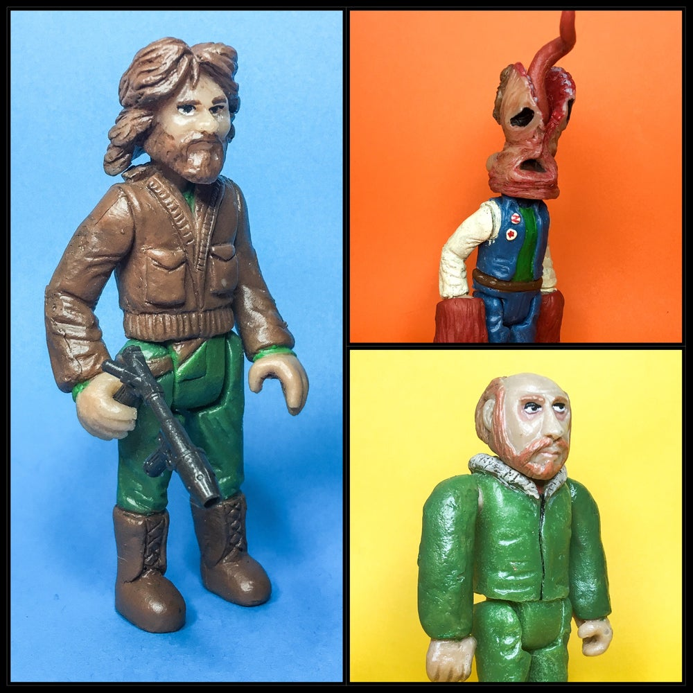 Image of The Thing Resin Action Figure Series Wave 1 Bundle