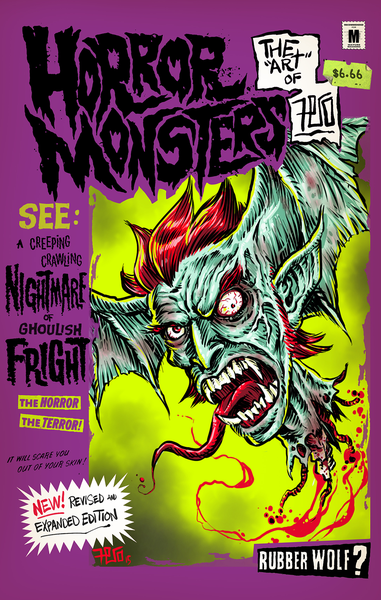 Image of Horror Monsters: The Art of Fero (new expanded edition)