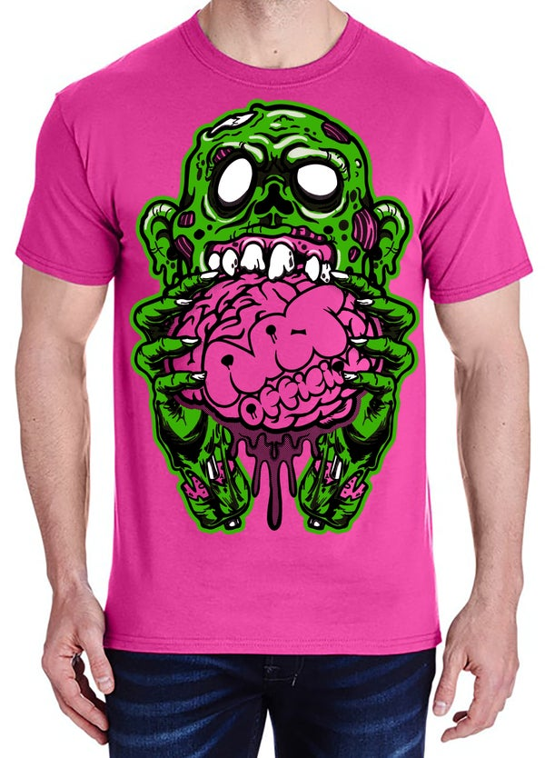 Image of Zombie (Pink Tee)