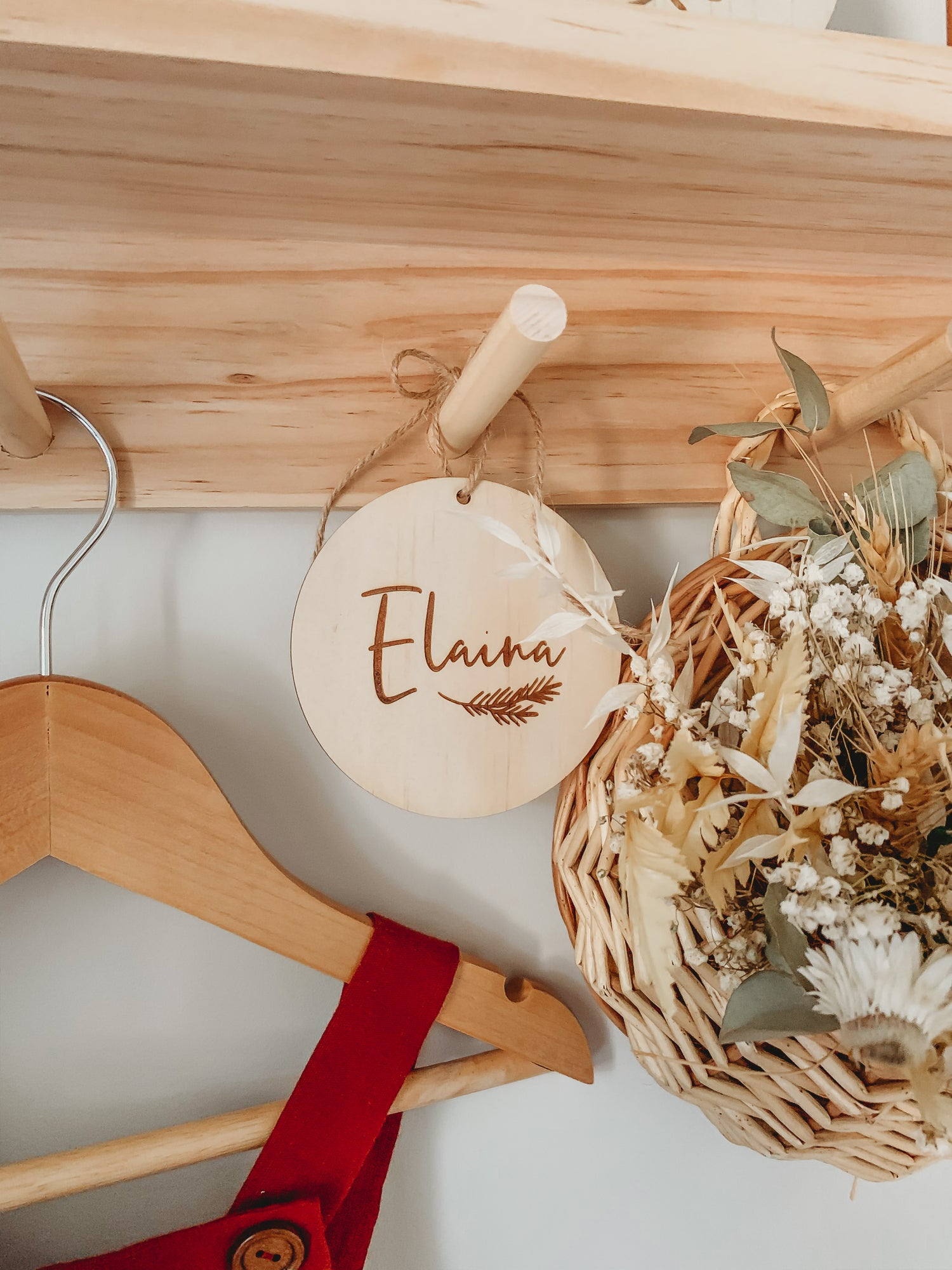 Image of PRE ORDER | Etched timber ornament