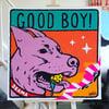 GOOD BOY (80x80cm)