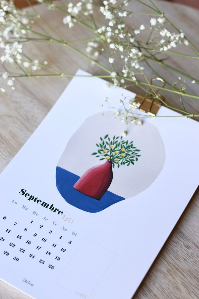 Image of Calendrier 2021 Les Vases (format A5)