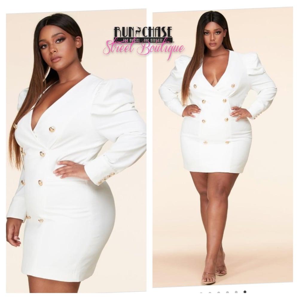 Image of Mini Blazer Dress Plus