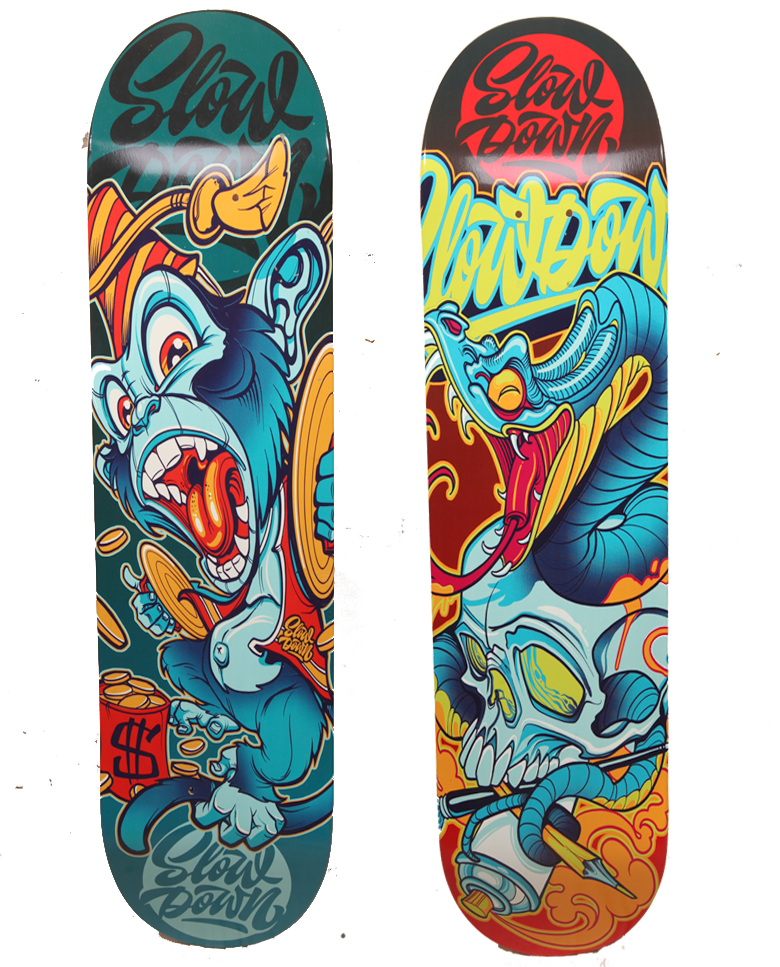 Image of Both Skate decks 2020 (Save 10$)