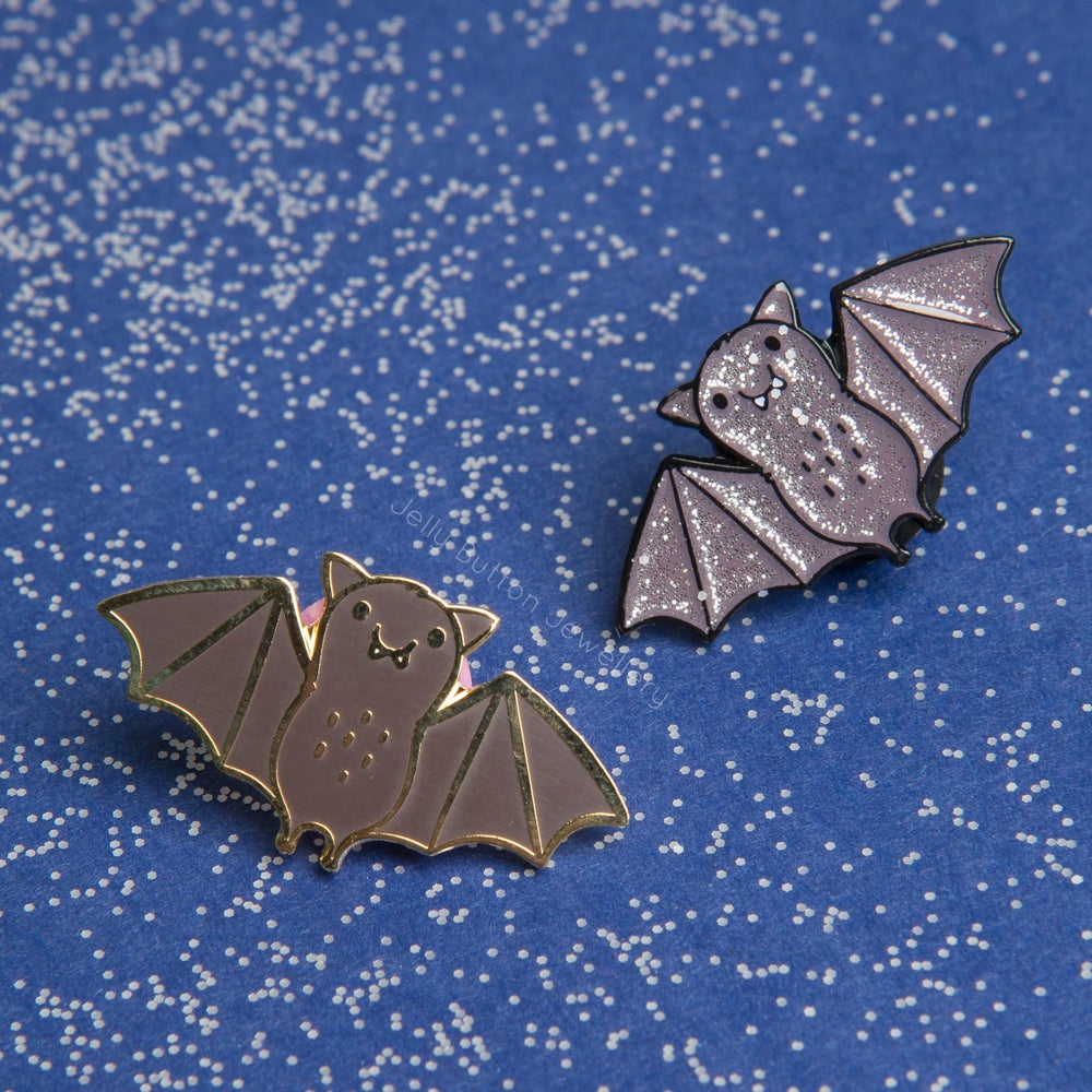 Image of Bat Enamel Pin