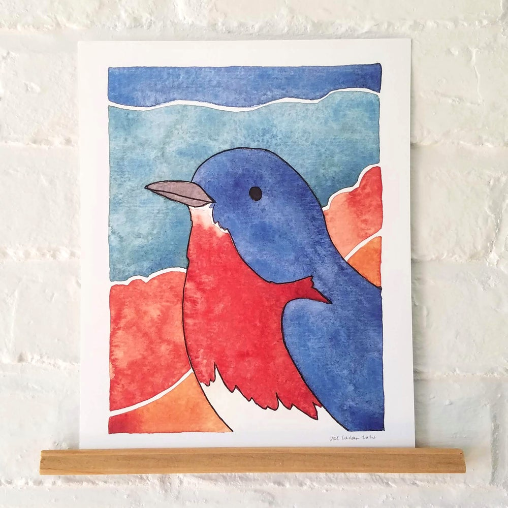 Image of Bird Portrait Prints