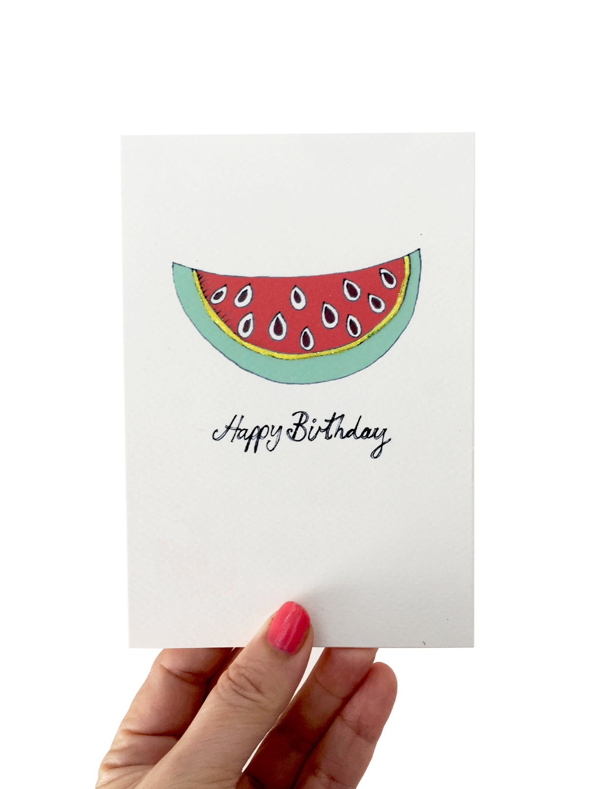 Watermelon Dream Birthday Card